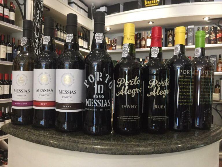 Adega Franco tem opções de vinho do porto para experimentar em casa