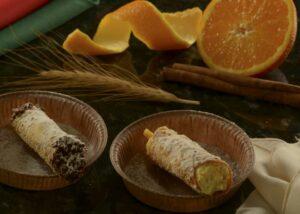 Peça um cannoli na Osteria Della Via