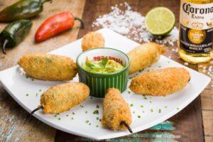 Jalapeño poppers: conheça o petisco do Zapata para amantes de pimenta