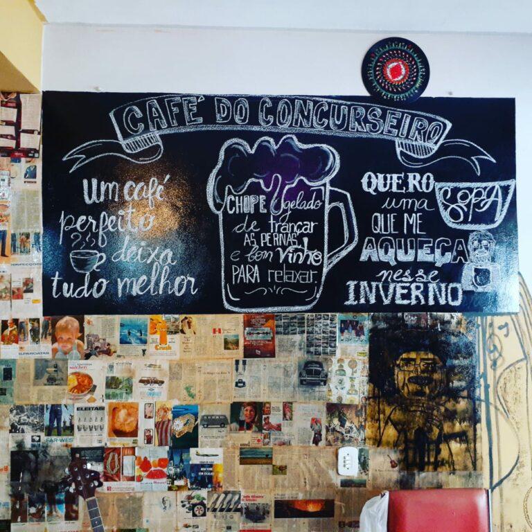 Café do Concurseiro: o café que aposta na cultura e na simplicidade