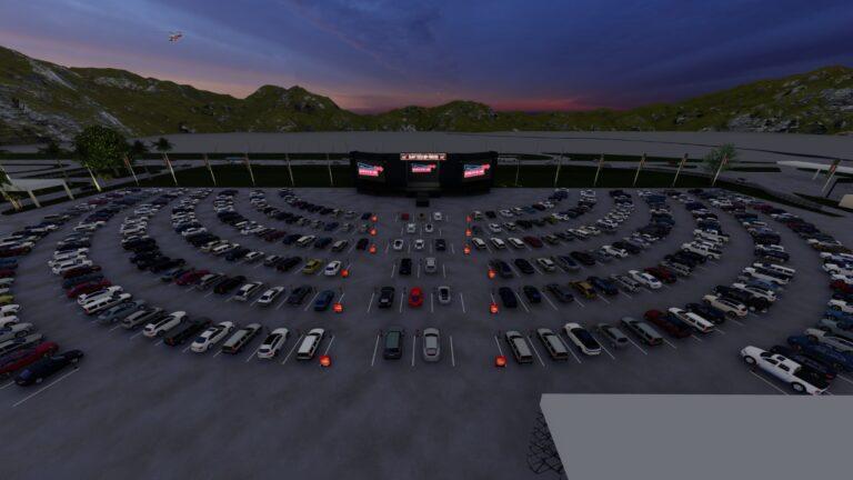 Com foco em shows, maior drive-in do Brasil funcionará no Expotrade Pinhais