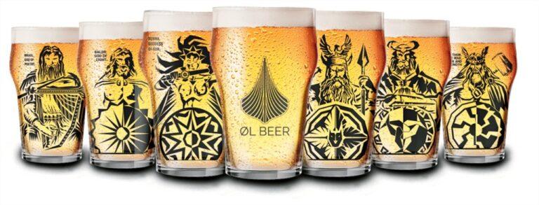 ØL Beer tem copos de deuses nórdicos para acompanhar a cerveja