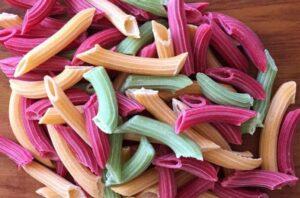 Para a família toda: Organic Box vende macarrão orgânico de vegetais a granel