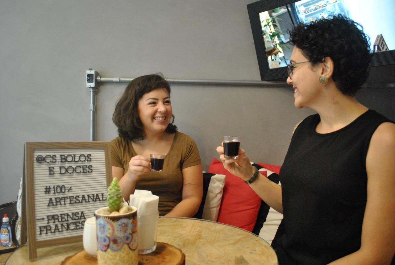CS Doce & Café traz a ideia do doce sem culpa: para comer bem e pensar no bem-estar