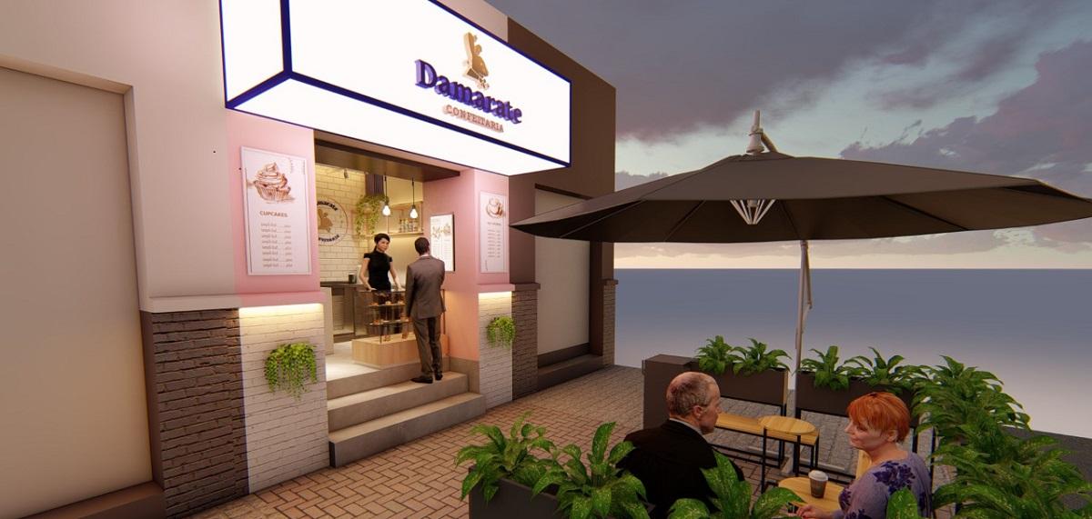 Nova unidade da Damarate Confeitaria Artesanal já tem data para abrir