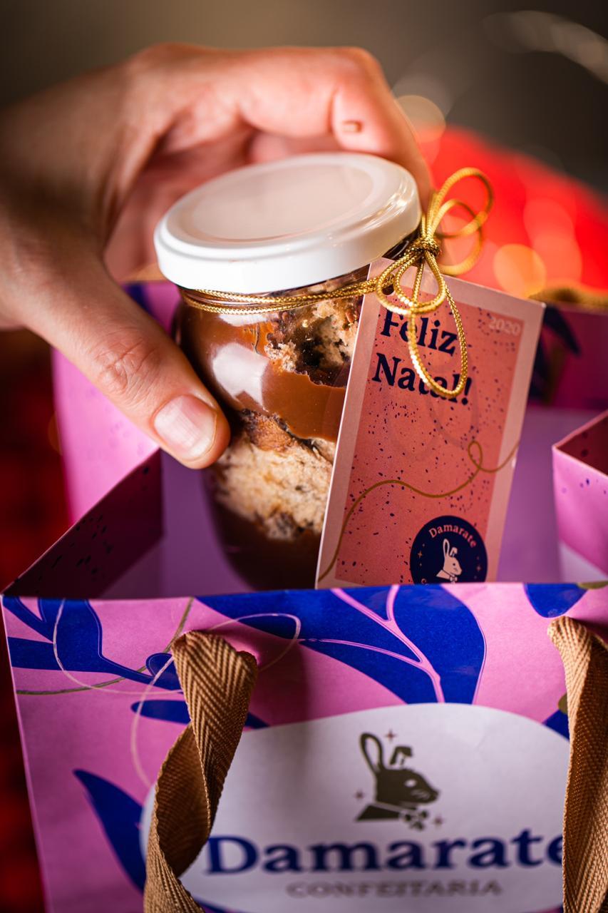 Damarate lança cardápio de Natal com opções de doces para a ceia ou para presentear