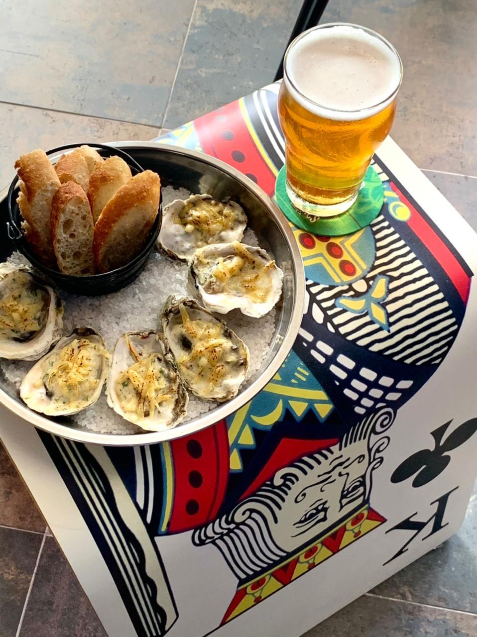 BeerMad Batel traz ostras de Guaraqueçaba harmonizadas com cervejas, espumantes e drinks