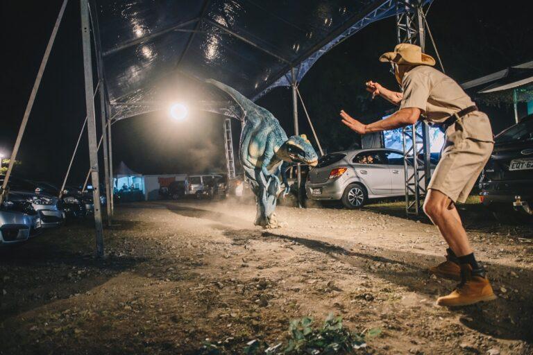 Jurassic Safari Experience: espetáculo chega a Curitiba no formato drive-in