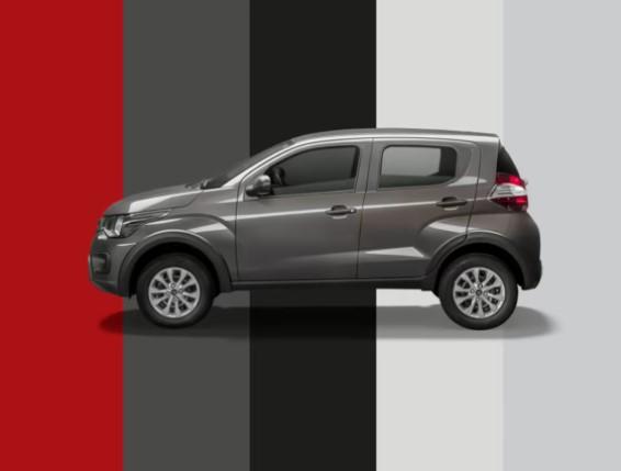 Fiat Mobi Trekking cores