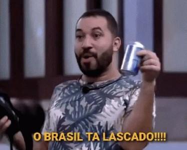 Gilberto Nogueira coragem