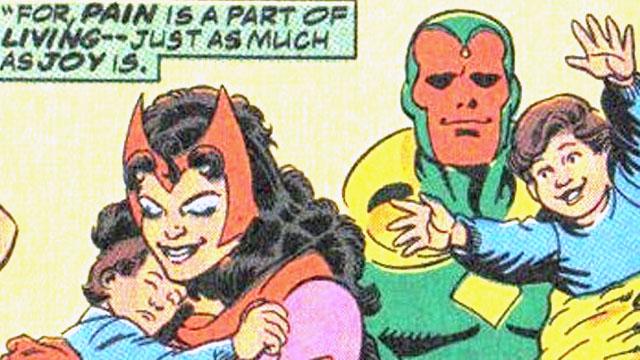 Mãe de super herói, Feiticeira Escarlate