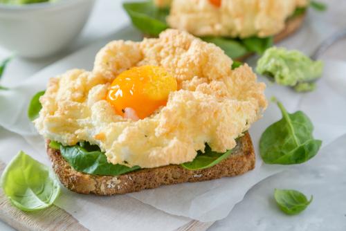 Como fazer cloud eggs, a obsessão low carb