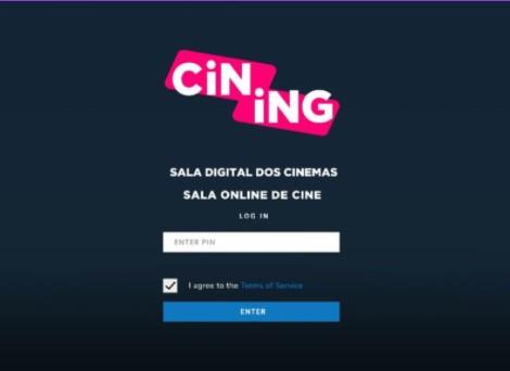 Sala de cinema online estreia hoje em todo Brasil:conheça Cining