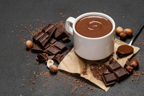 Chocolate quente pra espantar o frio