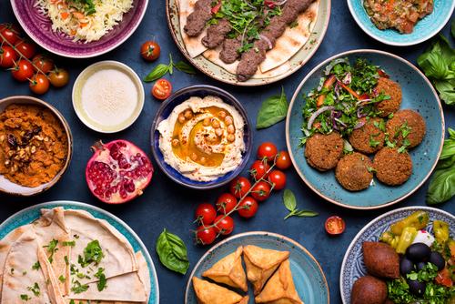 mesa árabe