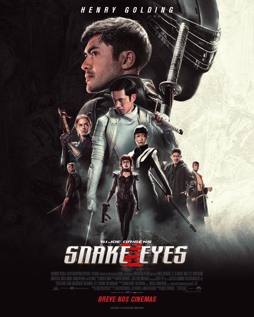 Snake Eyes: Origens. Assista ao trailer oficial aqui!