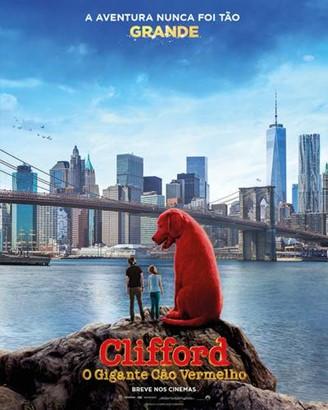 Breve nos cinemas: Clifford, o gigante cão vermelho